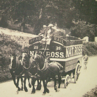 Moving way back in the day needed lots of horsepower!